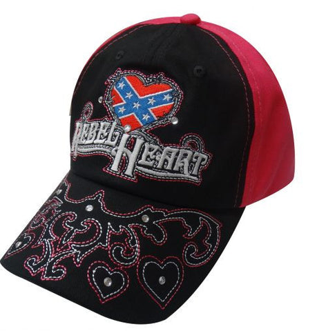 """Rebel Heart"" Baseball cap."
