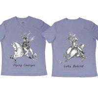 "Jude Too Horse Tee Shirt ""Flying Lead Changes"