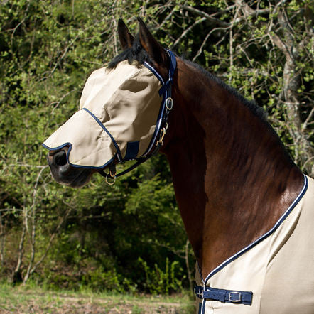 Horze Seville Fly Hood with Nose Protection