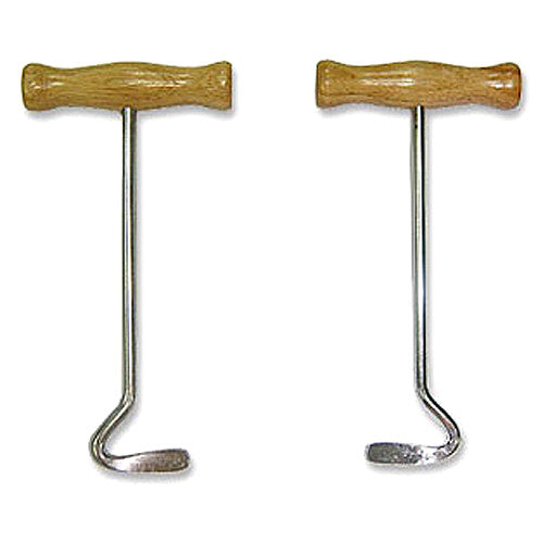 Wooden Boot Pulls
