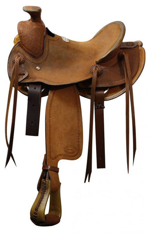 "12"" Showman ® Youth roper saddle."