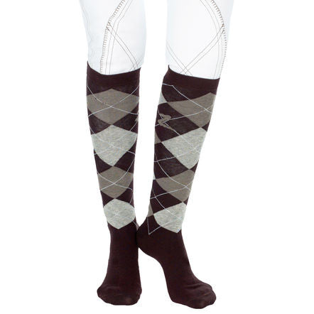 Horze Holly Argyle Socks
