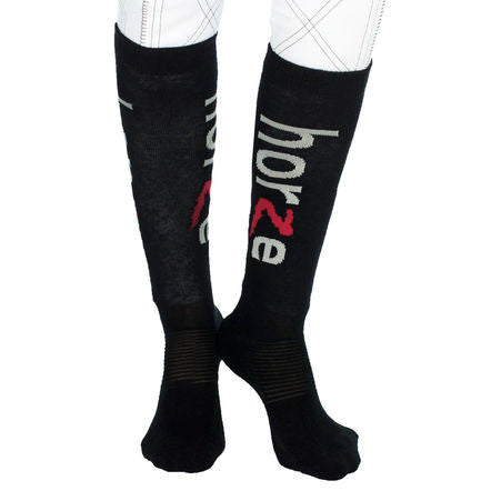 Horze Adult Technical Tip Toe Socks