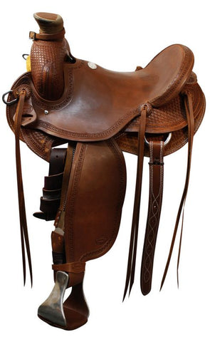 "15"", 16"", 17"" Showman™ Roper Saddle."