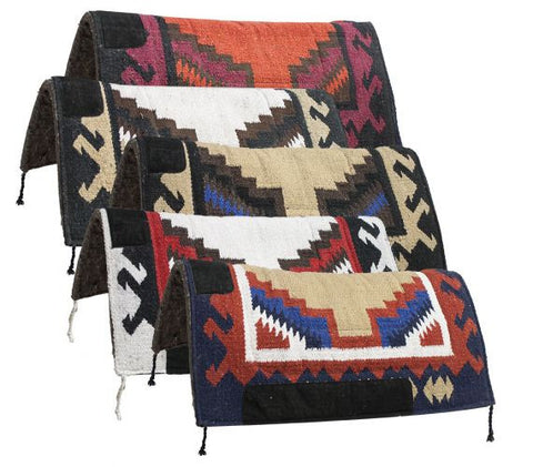 "32"" x 32"" Navajo felt bottom pad."