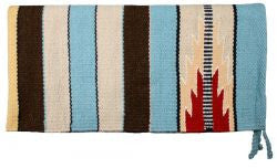"32"" x 64"" 100% New Zealand wool saddle blanket."
