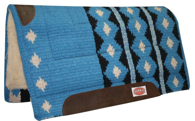 "36"" x 34"" 100% New Zealand wool cutter style pad."
