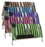 "32"" x 32"" Acrylic top saddle pad with fleece bottom"