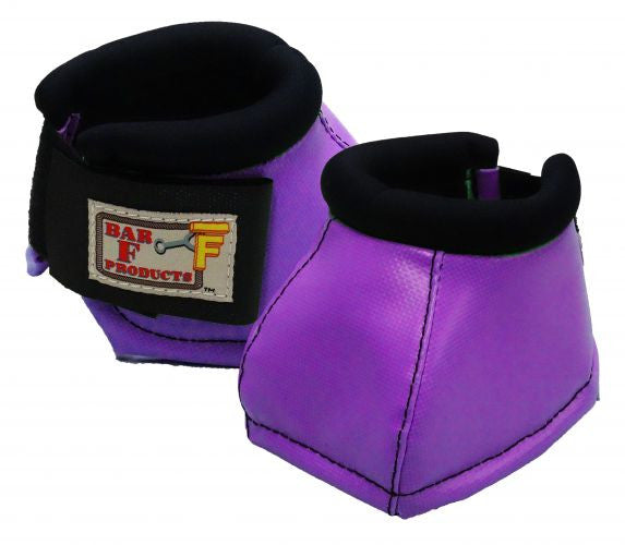 Bar F No-Turn neoprene lined bell boots