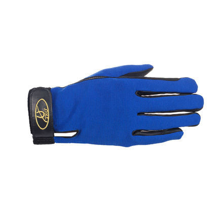 TKO - Synthetic Leather Race Gloves with spandex