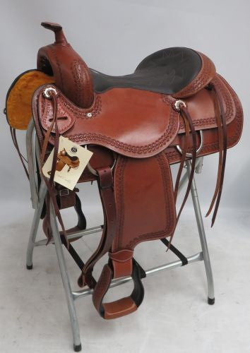 "*NEW* 16"" Circle S Pleasure style saddle."