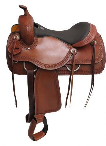 "16"" Circle S Pleasure style saddle."