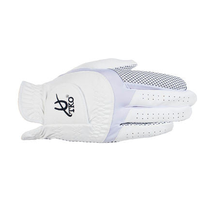 TKO - Synthetic Leather Race Gloves with silicone palm Extra Grip