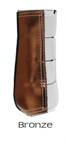 XL  Bar F Hind Metallic Galloping Boot