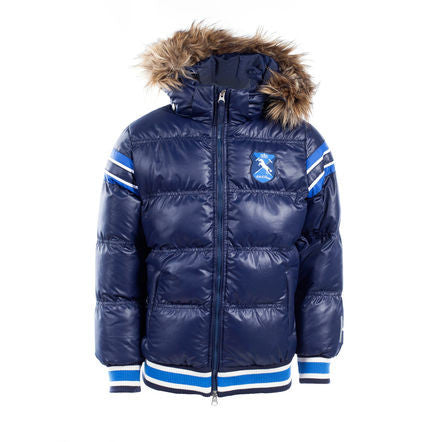 Horze Kids&Ponies Scout Padded Jacket with Fur Hood