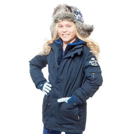 Horze Max children's parka jacket