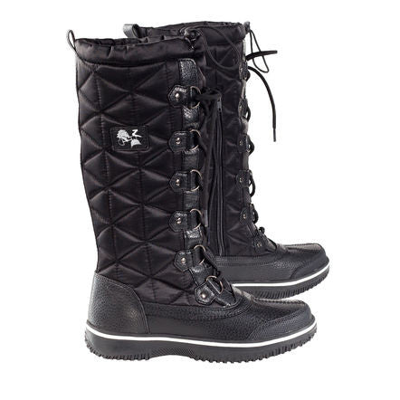 Horze Urban Stable Boots with Quilted Shaft