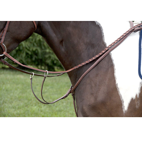 Exselle Elite Fancy Square Raised Breastplate with Running Attac