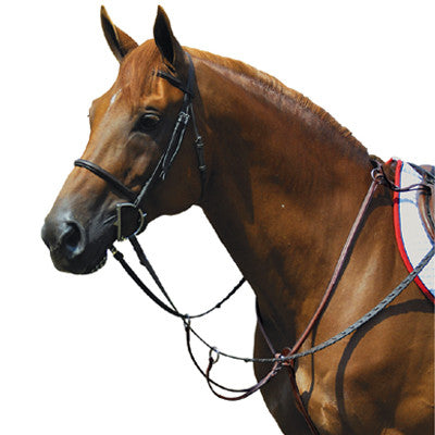 Exselle Elite Fancy High Raised Breastplate with Running Attachm