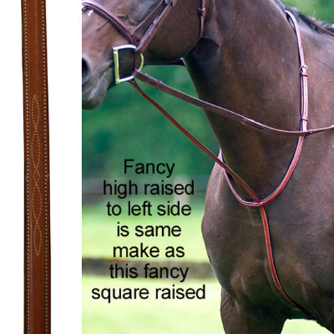 Exselle Elite Fancy High Raised Standing Martingale