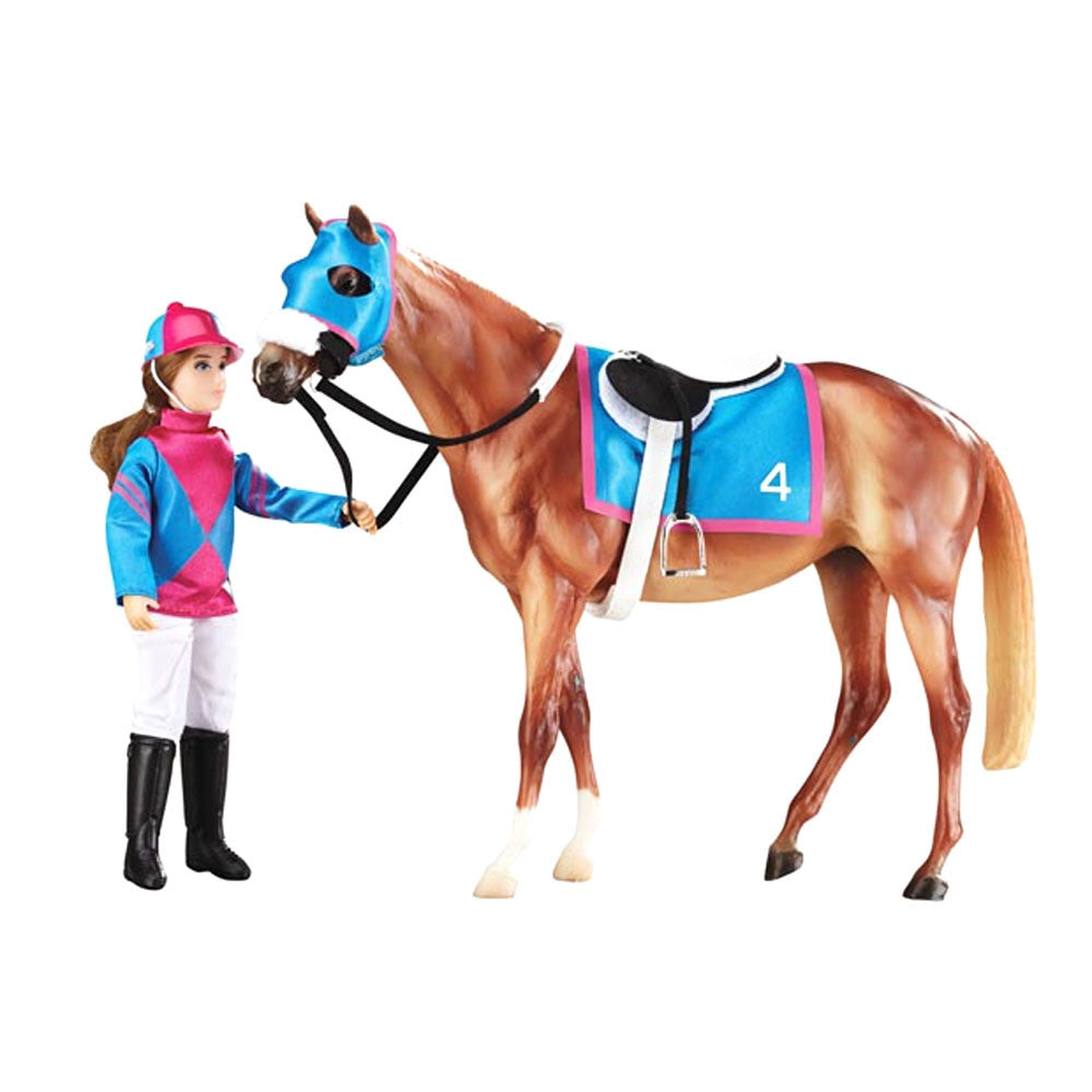 Breyer Traditional Lets Go Racing
