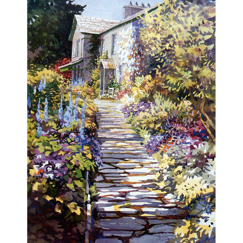 Sally Mitchell Fine Arts Garden Prints - Garden Trail