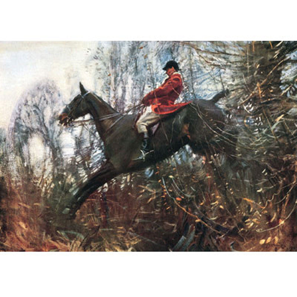 Alfred Munnings Horse Prints - The Huntsman