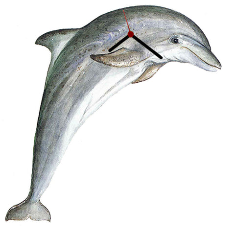 Bottle Nose Dolphin Clock