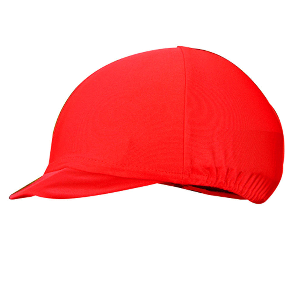 Lycra Helmet Cover Red