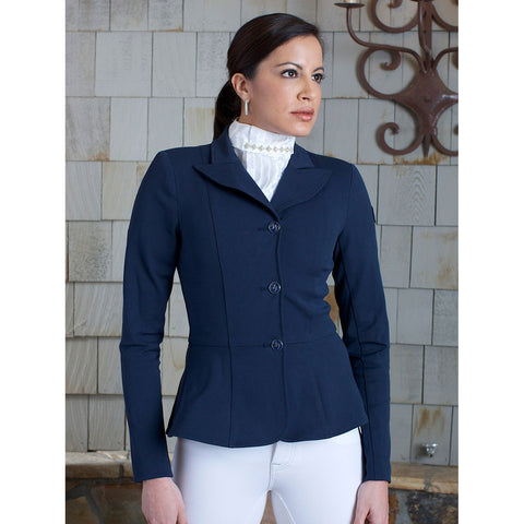 2kGrey Ladies Show Riding Jacket | Frances Navy