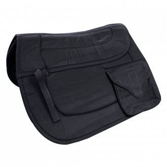 Cushioned Pocket AP Trail Saddle Pad Black