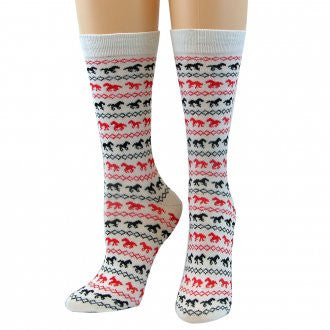 CoolMax Running Horses Socks