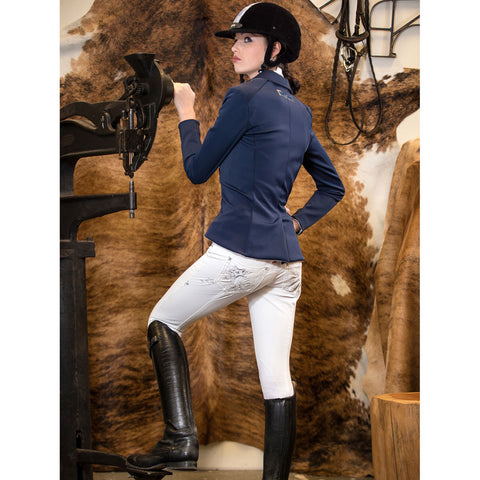 2kGrey Ladies Avatar Knee Patch Breech