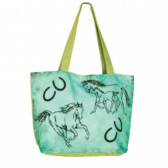 WOW Canvas Tote Bag Family Mare and Foal