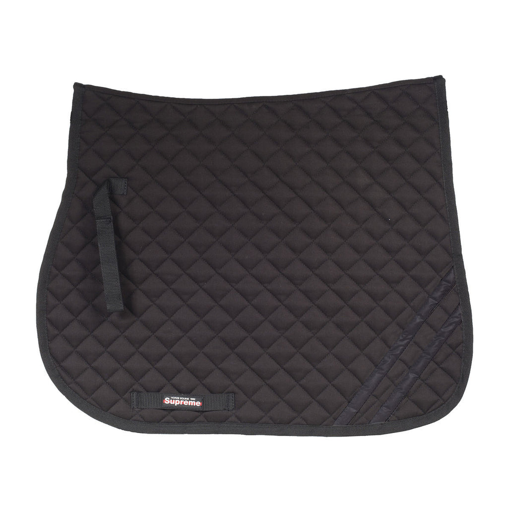 Horze Supreme Dark Reflective Safety GP Saddle Pad