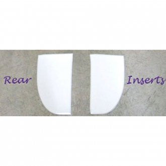 ThinLine Cotton Square Dressage Pad Inserts | Rear