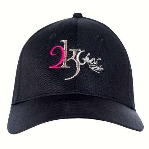 2kGrey Ladies Logo Baseball Cap
