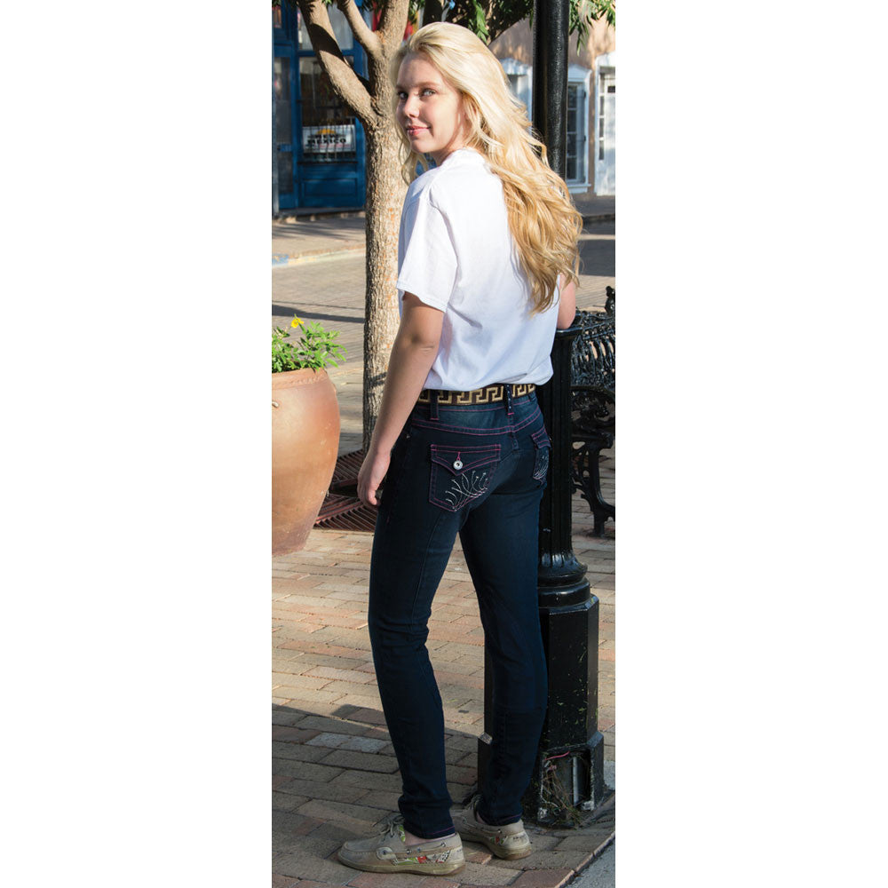 2kGrey Ladies Patriot Knee Patch Breech