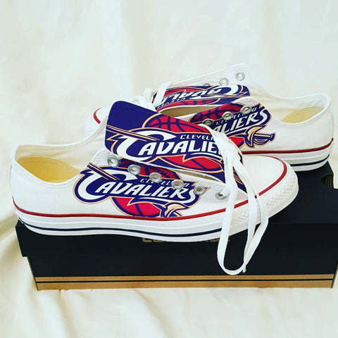 sports shoes 86c0f a7be5 Cleveland Cavaliers Version 1 Converse Custom X48qcX