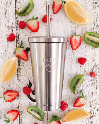 Happy Way Stainless Steel Tumbler