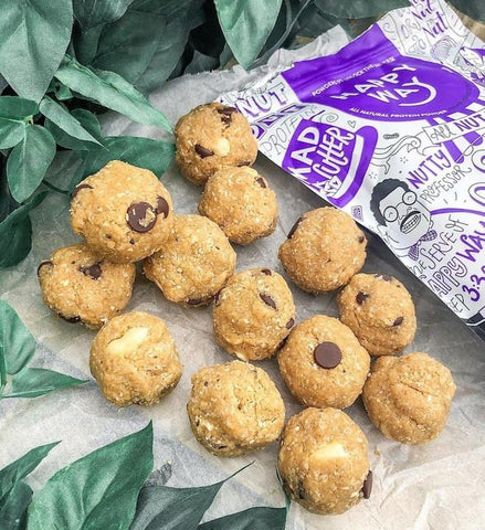 Happy Way Vegan Peanut Butter Choc Chip Protein Balls By @healthy_bree