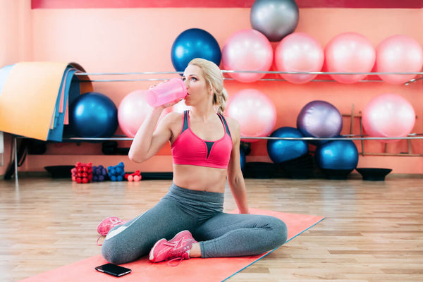 Does drinking protein shakes help build muscle for Women