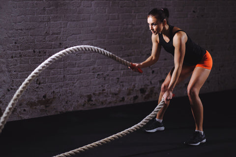 Fast paced high-intensity training