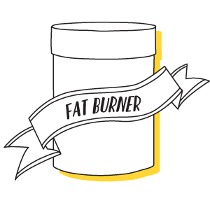 All Natural Fat Burners Icon