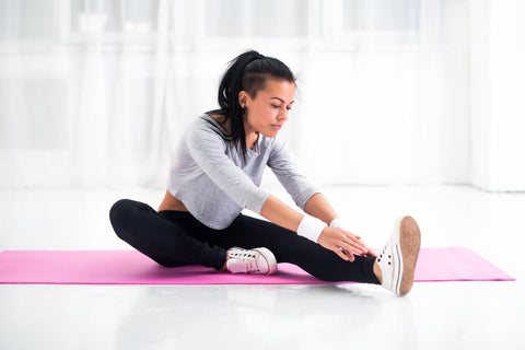 relieve sore muscles stretching