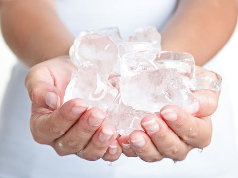 relieve sore muscles with ice