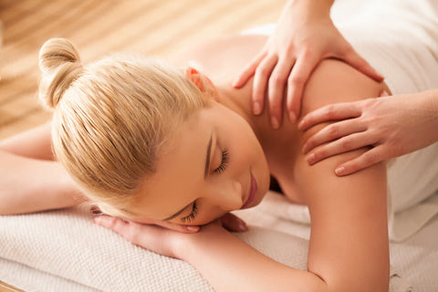 relieve sore muscles with massage
