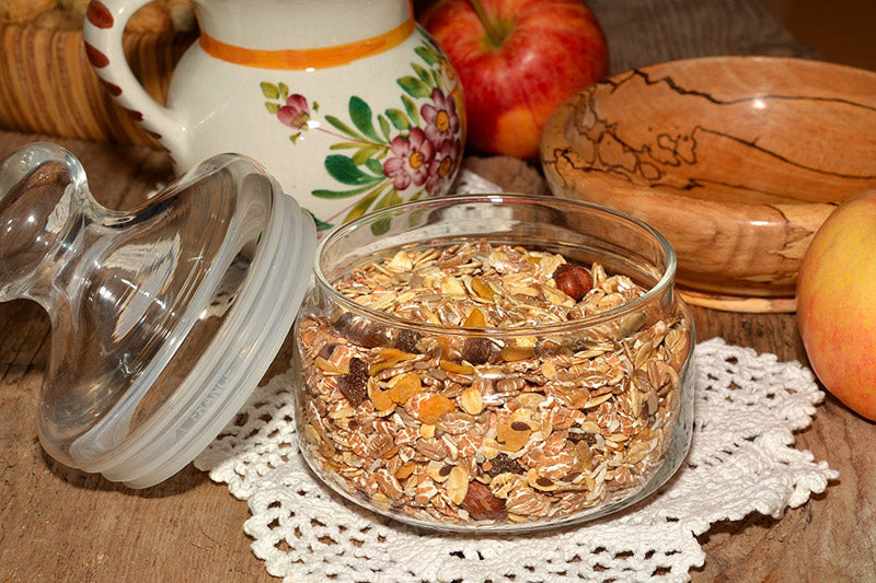 vegetarian source of protein - oats