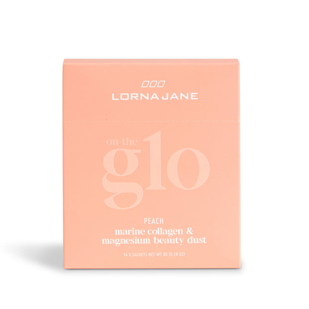 Lorna Jane On The Glo | Beauty Dust | Peach (14 sachets)