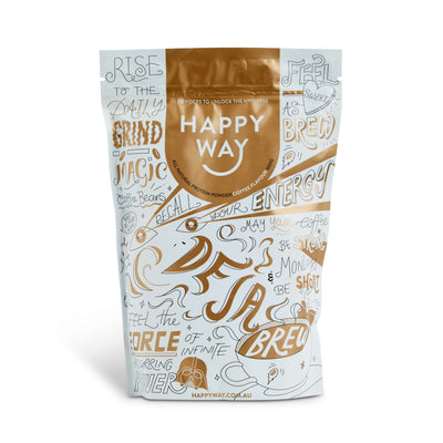 De Ja Brew Coffee Protein Powder 500g,Protein,Happy Way,Happy Way